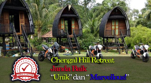 Tempat percutian menarik Chengal Hill Retreat Janda Baik