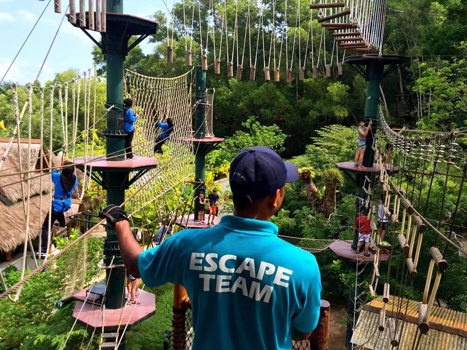 Penang Escape Theme Park Tempat Menarik di Pulau Pinang