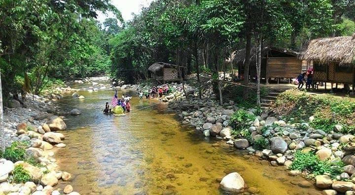Tempat Percutian Menarik di Chalet Sungai Bil Cool Spring, Tanjung Malim, Perak