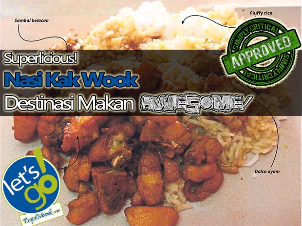 Nasi Kak Wook Destinasi JJCM Tempat Makan Sedap di Selangor