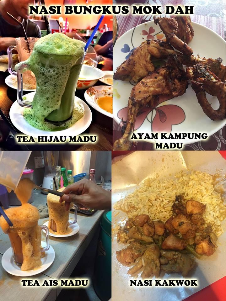 JJCM Nasi Bungkus MokDah Tempat Makan Menarik di Selangor