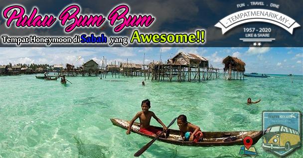 Percutian di Pulau Bum Bum Sabah Satu Lokasi Percutian Bajet yang Menarik