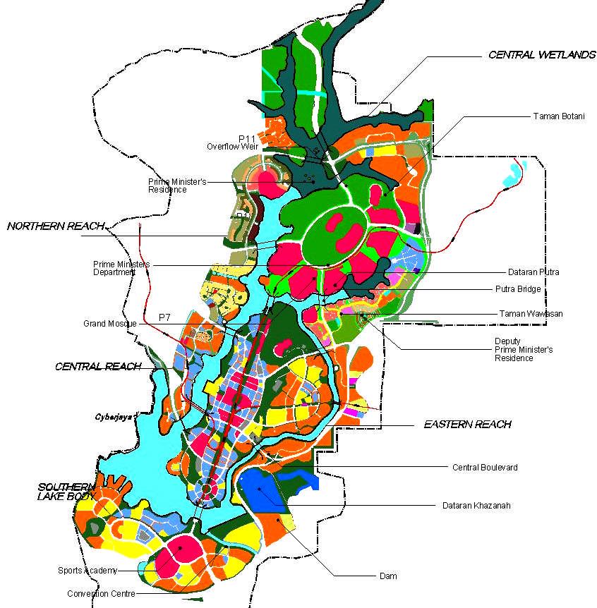 peta putrajaya