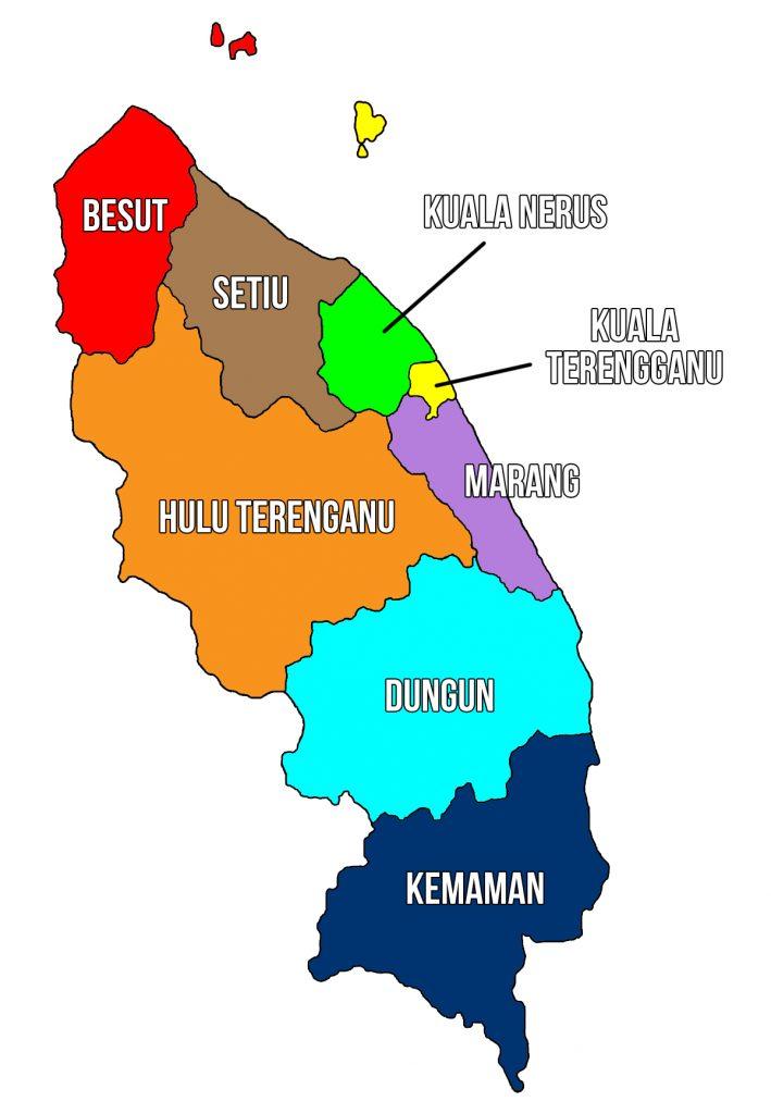 peta negeri terengganu