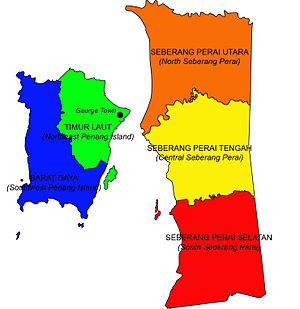 peta pulau pinang