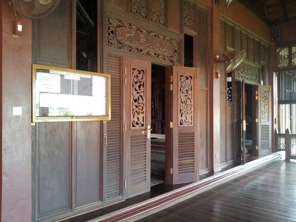masjid kayu ulul albab jertih besut
