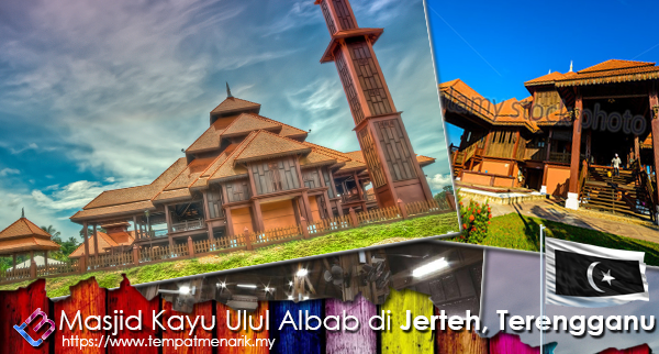 masjid kayu ulul albab jerteh