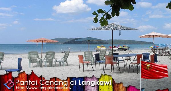 Pantai Cenang di Langkawi