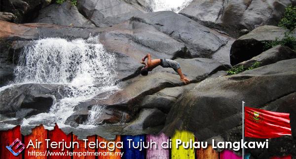 air terjun telaga tujuh pulau langkawi