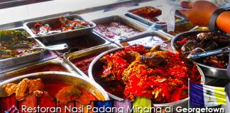 Restoran Nasi Padang Minang Pulau Pinang