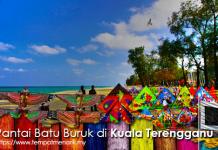 Pantai Batu Buruk di Kuala Terengganu