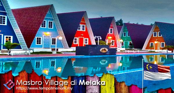 Masbro Village Melaka Penginapan Menarik di Melaka - Tempat Menarik