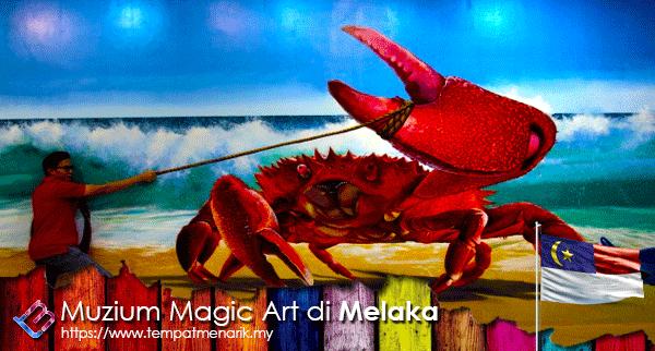 Muzium Magic Art di Melaka