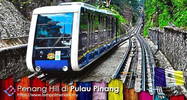 Penang Hill Tempat Menarik di Pulau Pinang