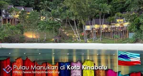Pulau Manukan Tempat Menarik di Kota Kinabalu