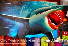 I-City Trick Art Muzium Tempat Menarik di Shah Alam Selangor