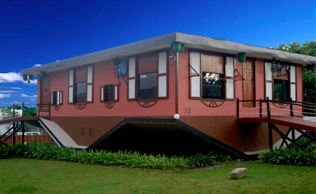 Image result for rumah terbalik tamparuli sabah
