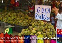 Durian Murah dan Enak di Tangkak Johor