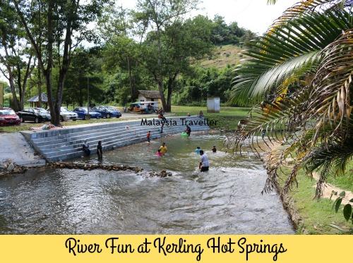 Kerling-Hot-Spring-River Of Kolam Air Panas Kerling Di Selangor Lokasi Mandi Manda Yang Sangat Nyaman Untuk Pelawat