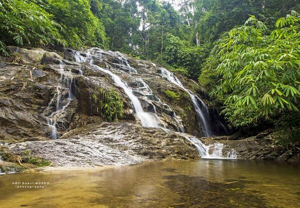 air terjun ayer putih Of Air Terjun Ayer Putih Di Johor Lokasi Mandi Manda Yang Sangat Permai Untuk Pelancong