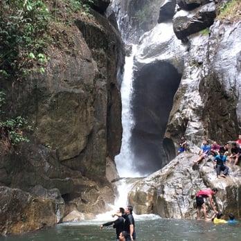 photo of sungai chiling kuala kubu baru selangor malaysia the waterfall
