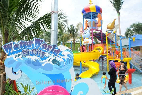 ho_01.2 Of Waterworld I-city Di Selangor Lokasi Mandi Manda Yang Sangat Nyaman Untuk Mandi-manda