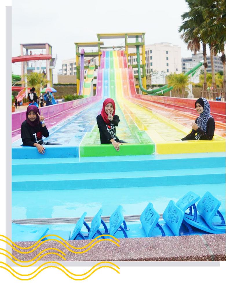 intro2a Of Bangi Wonderland Theme Park & Resort Di Selangor Lokasi Mandi Manda Yang Sangat Indah Untuk Pelancong