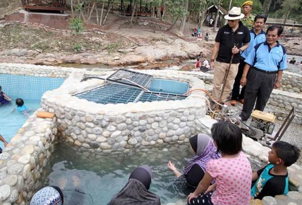 Kolam Air Panas Lubuk Timah Di Perak Lokasi Yang Menarik Lubuk Timah Hotspring Upgraded to First Class tourism Centre astro Of Kolam Air Panas Lubuk Timah Di Perak Lokasi Mandi Manda Yang Sangat Permai Untuk Pelawat