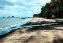 Pulau Lima Di Kedah Menarik Pantai Pasir Hitam 2 Picture Of Black Sand Beach Langkawi