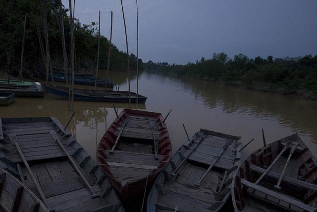 bersama anak2 destinasi memancing kami dijeti kg nelayan sungai lebam di kota tinggi berjiran dgn kampung pancor perjalanan yg makan masa lama kini menjadi