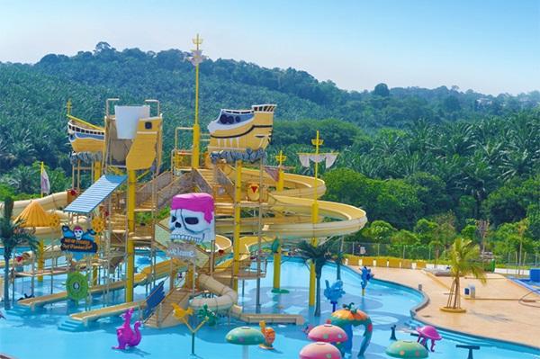 qw Of Bangi Wonderland Theme Park & Resort Di Selangor Lokasi Mandi Manda Yang Sangat Indah Untuk Pelancong