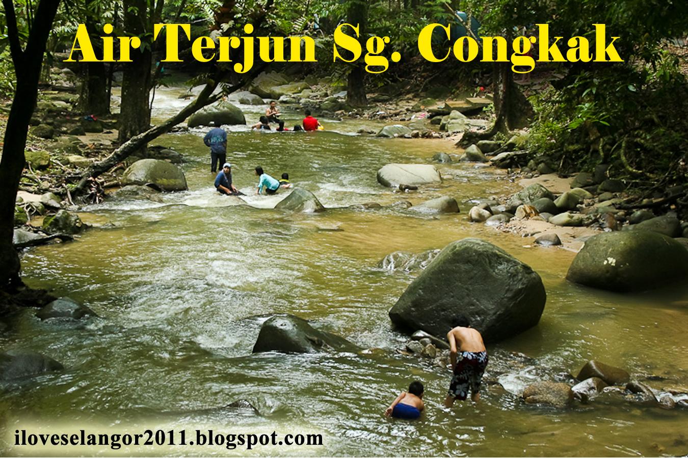 sg congkak 1 Of Air Terjun Congkak Di Selangor Lokasi Mandi Manda Yang Terbaik Untuk Pelawat