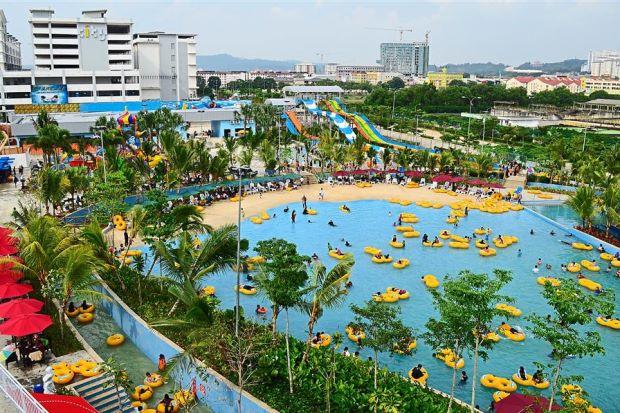 str2_icity_s6_3_lead Of Waterworld I-city Di Selangor Lokasi Mandi Manda Yang Sangat Nyaman Untuk Mandi-manda