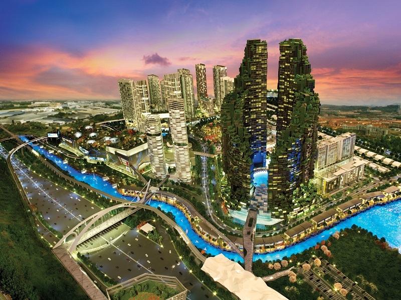 Waterworld I-city Di Selangor Lokasi Yang Menarik the Emerging Crown Jewel Of I City Of Waterworld I-city Di Selangor Lokasi Mandi Manda Yang Sangat Nyaman Untuk Mandi-manda
