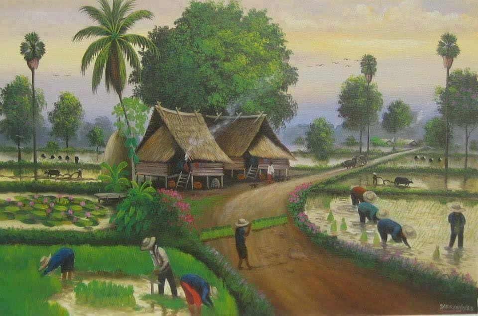 84 Koleksi Gambar Rumah Orang Desa Gratis Terbaik