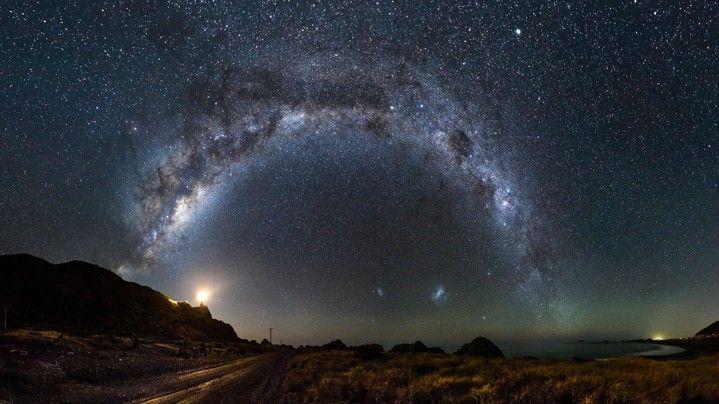 foto 2 pemandangan malam indah
