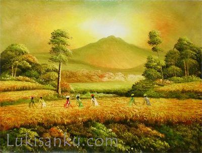 single canvas a lukisan y1 10 toko lukisan online jual lukisan galeri lukisan l lukisan abstrak minimalis