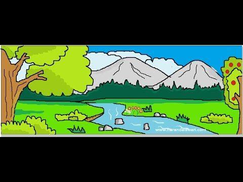 Gambar Pemandangan Sungai Yang Mengagumkan Dan Wajib Awak