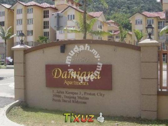 rumah untuk di sewa rent tg malim proton city damiana apartment 2580053545746509764 jpg