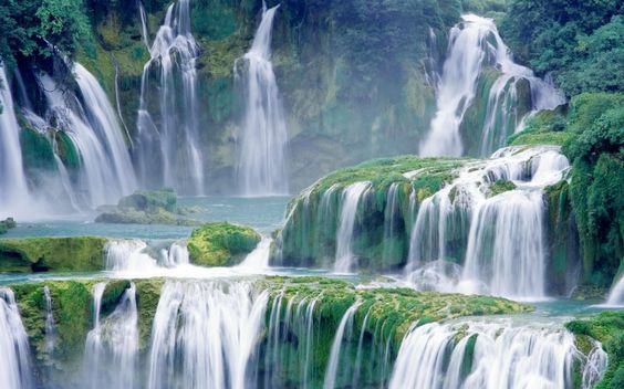 gambar animasi pemandangan alam