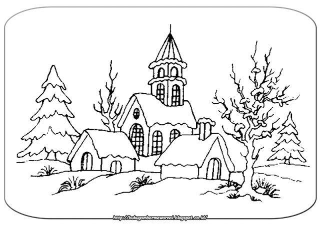 770 Koleksi Gambar Rumah Kartun Hitam Putih Gratis Terbaik
