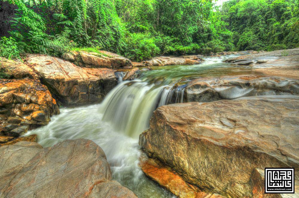 jom saksikan keindahan panorama di air terjun lata janggut