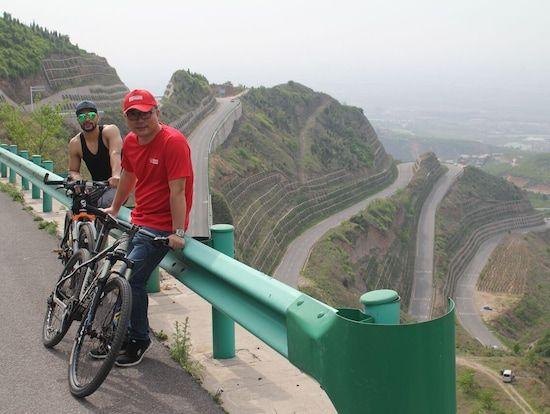 enjoy a bike tour from the lishan mountain