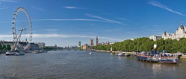 nama london kemungkinan berasal dari sungai thames