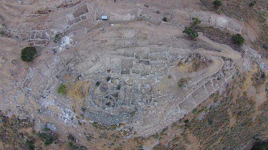 late minoan settlement of azorias panoramic azorias