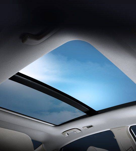 panorama sunroof with the panorama sunroof you can enjoy not only a bright and airy environment but also a sporty and modern exterior style