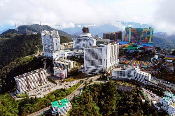 genting highlands malaysia city images pemandangan dari atas genting highland genting highlands didirikan