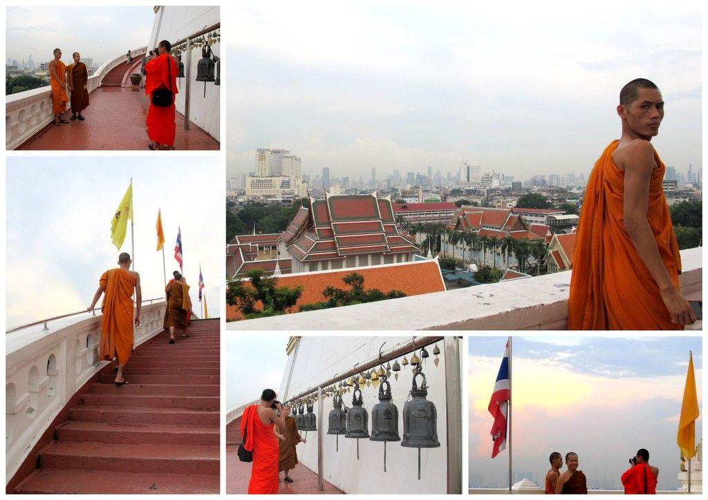 sebagian besar pengunjung datang hanya untuk melihat golden mount dan melihat pemandangan indah bangkok tetapi tetap pengunjung diminta untuk menghormati