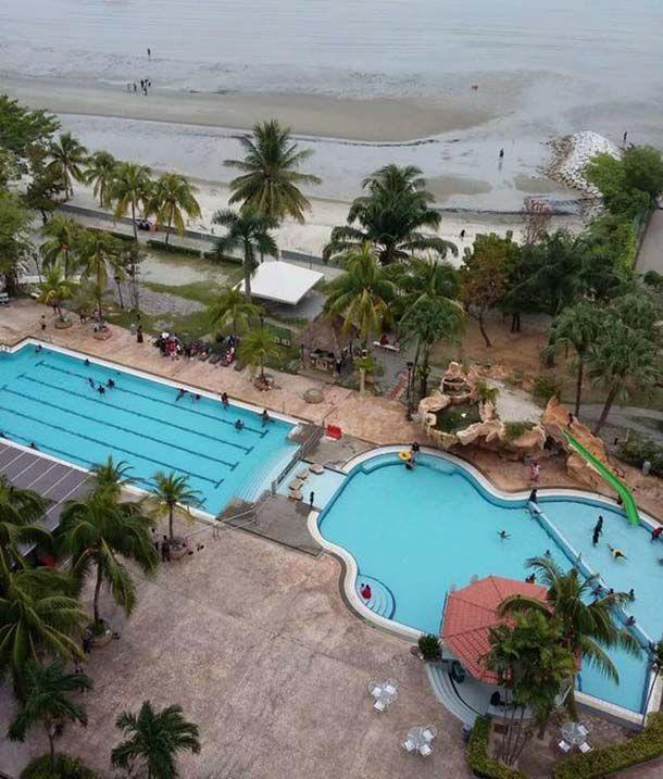 private apartment at glory beach resort