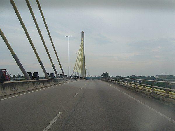 jambatan kedua muar